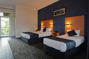 Superior Corporate Twin at Sanctuary Resort Motor Inn, Coffs Harbour Accommodation