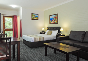 Superior Queen at Sanctuary Resort Motor Inn, Coffs Harbour Accommodation